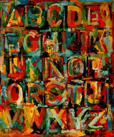 jasper-johns-colored-alphabet